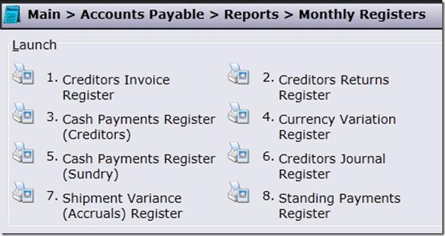 AP-Registers