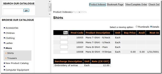 E-CommerceSurcharges