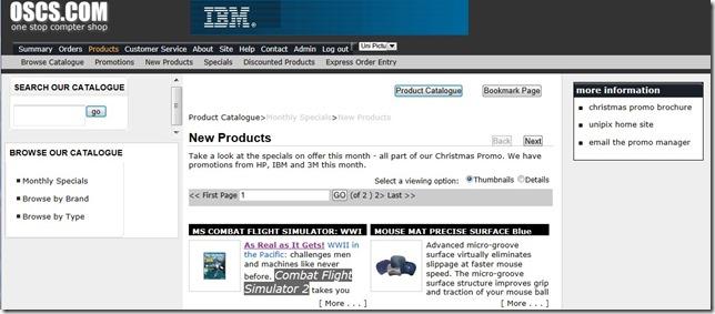 E-Commerce-CataloguePage