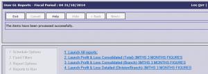 GL User Report Run